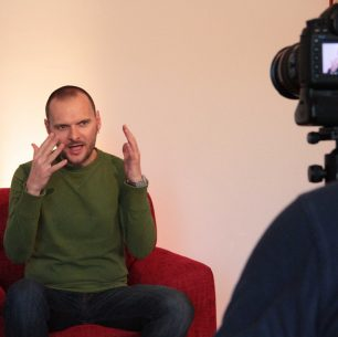 """osijek, 2014. snimanje spota za pjesmu """"negdje oko '82."""""""
