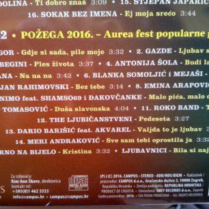 POŽEGA, 2016. AUREA FEST